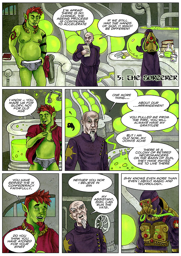 The Sorcerer page 1